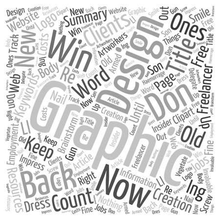 How to Use Word Cloud Concept Ilustracja