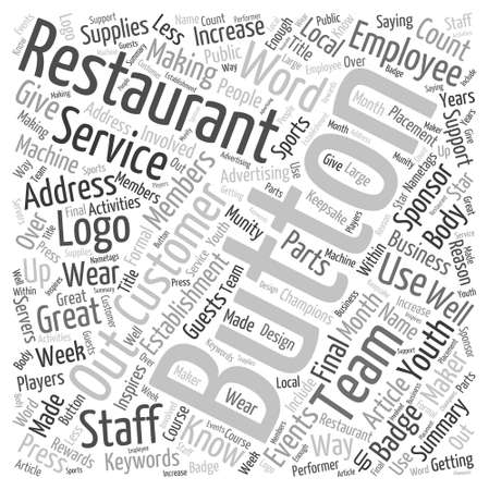 Mystery and Shopping Word Cloud Concept Illustration