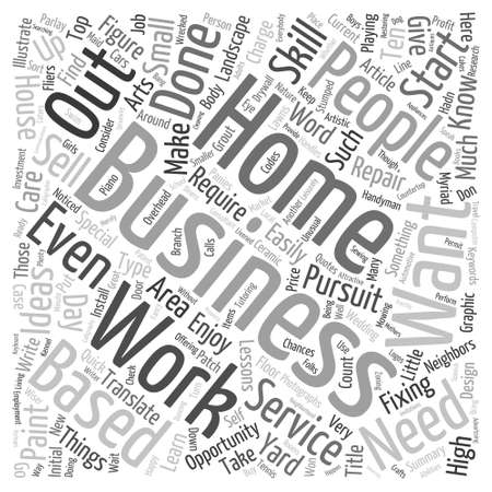 Office Management and Word Cloud Concept