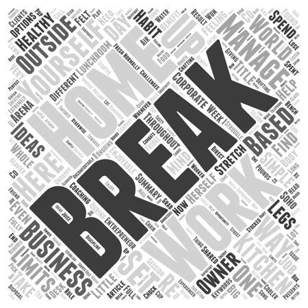 based: 7 Ways to Manage Breaks As A Home Based Business Owner
