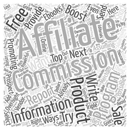 commissions: 3 Ways To Boost Your Affiliate Commissions Overnight Illustration