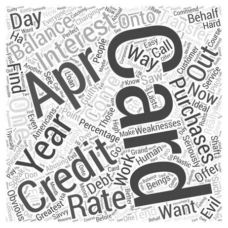 credit cards  word cloud concept 向量圖像