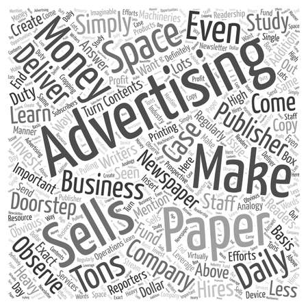 Making Money from Selling  word cloud concept