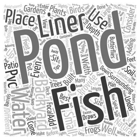 fish pond: A Backyard Fish Pond