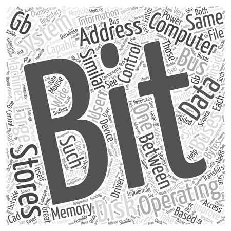 64-bits besturingssysteem Stockfoto - 64594597