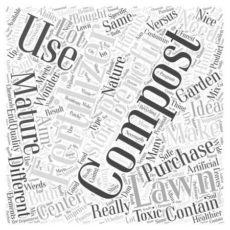 bought: 24 Store Bought Fertilizer Versus Mature Compost Illustration