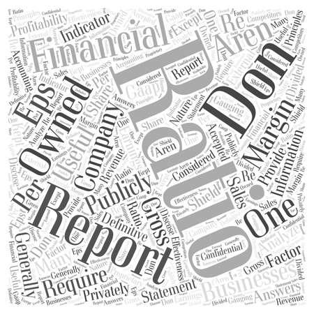 profitability: 40 How to analyze a financial statement
