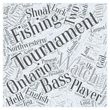northwestern: bass fishing tournaments