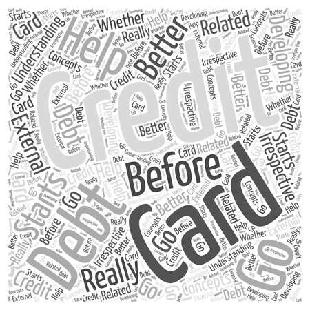 Before You Go For Credit Card Debt Help Illusztráció