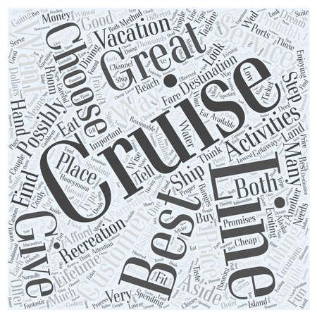 aside: best cruise lines Illustration