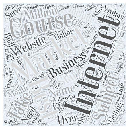 best internet marketing course Illustration