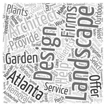 tree removal service: Atlanta landscape architect