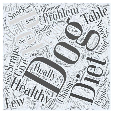 scraps: Avoid Table Scraps in Your Dogs Diet