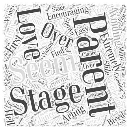 Avoiding Acting Like an Overbearing Stage Parent