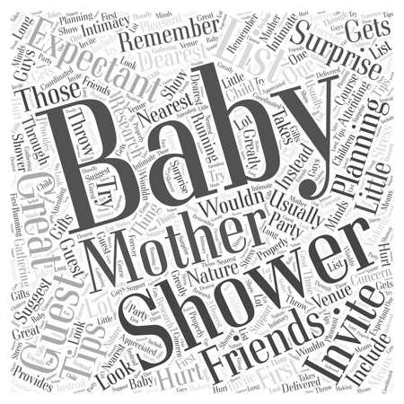 douche de bébé Vecteurs
