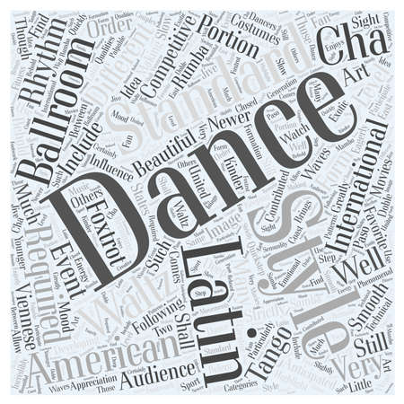 Ballroom Dancing is Making Waves Иллюстрация