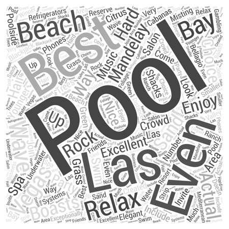 Best Pools in Las Vegas Illustration
