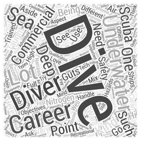 deep sea diver: Careers in Diving