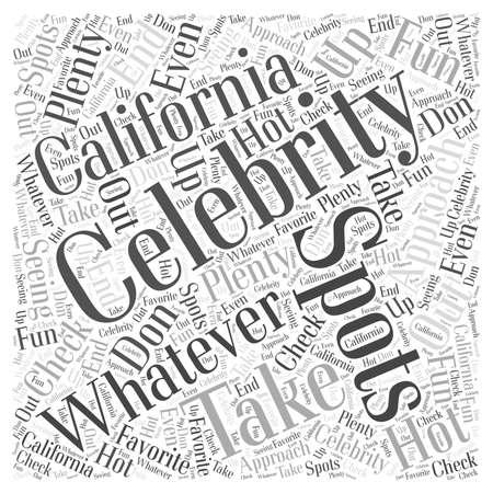 Celebrity Spotting in California