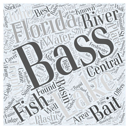 fishing area: central florida bass fishing