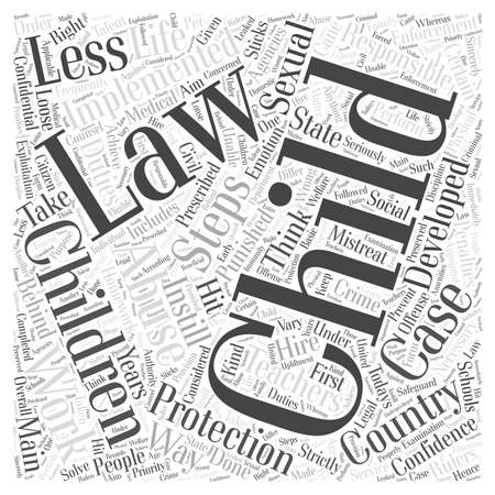 child protection laws Illustration