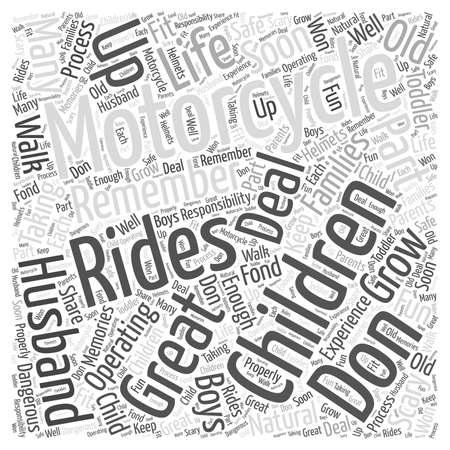 아동 및 오토바이