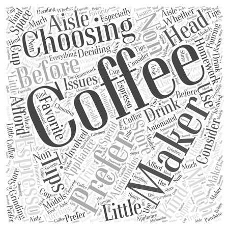 choosing: Choosing a Coffee Maker