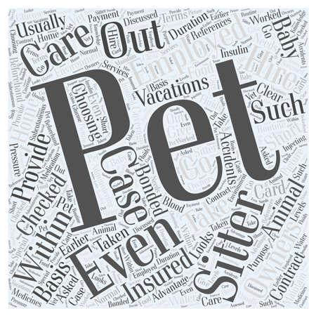 sitter: Choosing a Pet Sitter