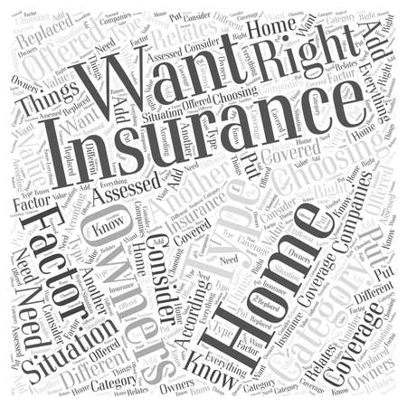 Choosing the Right Home Owners Insurance for Your Situation