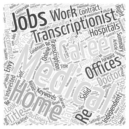 medical career: A Medical Transcriptionist Career Could Be Just What The Doctor Ordered