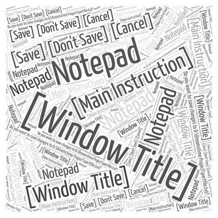 Título de la ventana Foto de archivo - 66311978