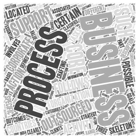 business outsourcing Banco de Imagens - 66308458