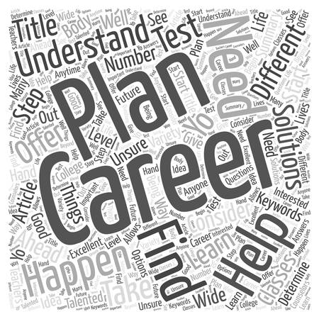 able to learn: Career Planning The Step Ahead Illustration
