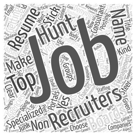 recruiters: 1000 things you don t want in your job hunt