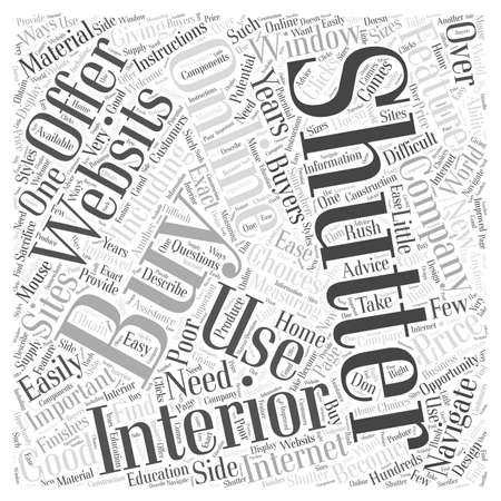 Buying Interior Shutters Online