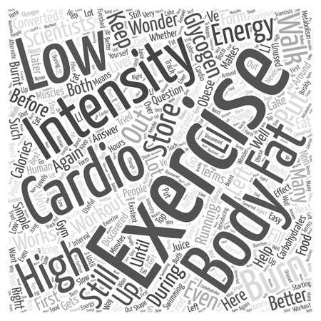 cardio: Cardio Exercise Illustration