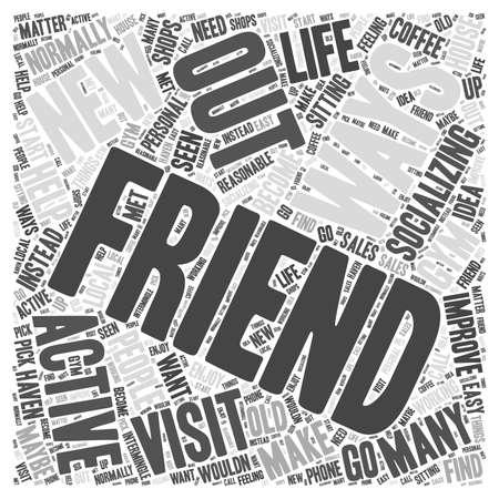 socialising: Socializar ayudará a mejorar su vida personal concepto de nube de palabras
