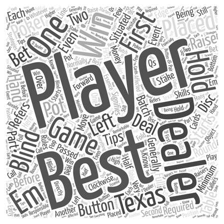 BWG texas poker tips Иллюстрация