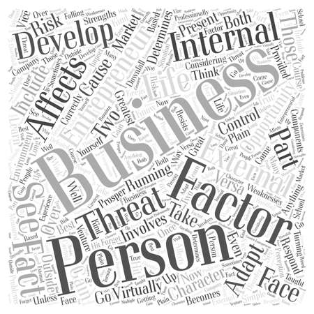 personal development entrepreneur business word cloud concept