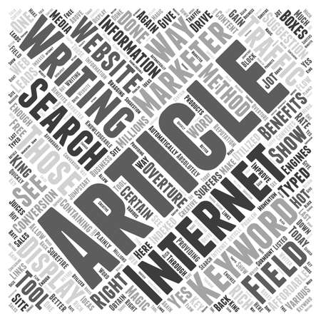 articles: BW articles as affordable internet marketing method