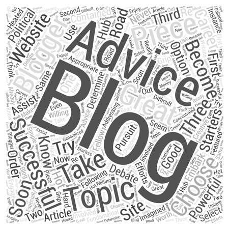 blogging: blogging advice
