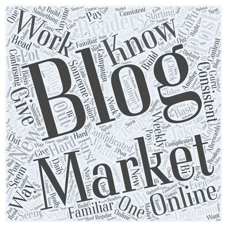 Blog Marketing Online What You Should Know Ilustração
