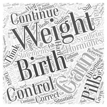 birth control: Birth control pills and weight gain