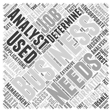 determine: business analyst job description