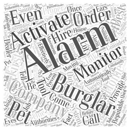 burglar: burglar alarm monitoring