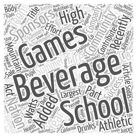 recently: Beverage Company Sponsors Teen Games