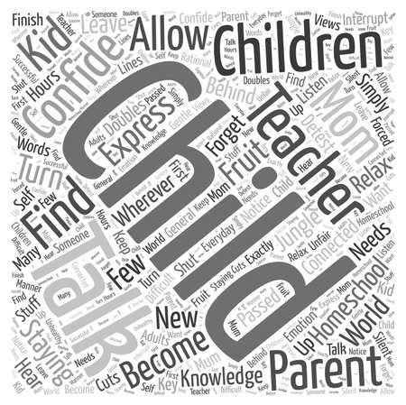 The Benefits of Online Learning word cloud concept