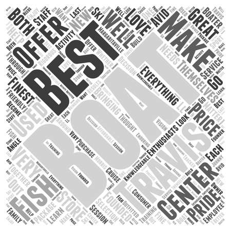 boating: Travis Boating Center word cloud concept