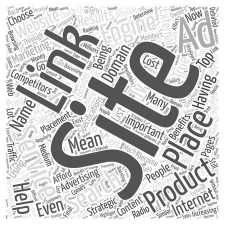JP PPC and Internet Marketing word cloud concept Ilustrace