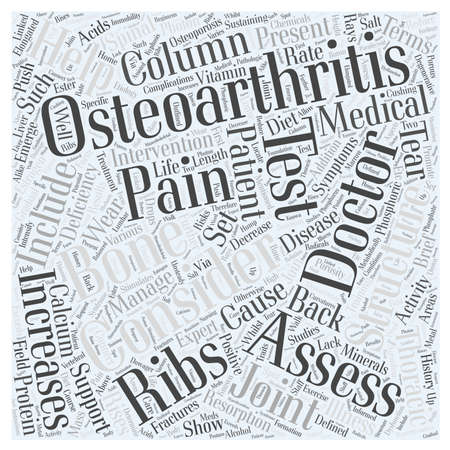 osteoarthritis: Brief History of Osteoarthritis and Back Pain